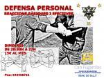 DEFENSA PERSONAL A L'ESPAI DE SALUT DIMECRES 20:30H A 22H