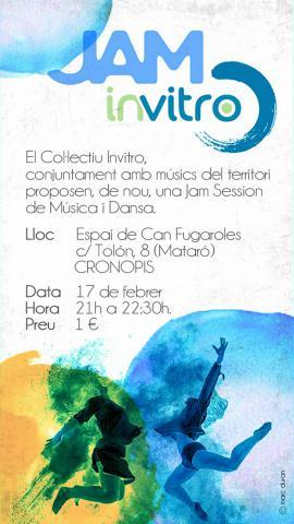Jam Dansa i Música divendres 17 de 21h a 21:30h